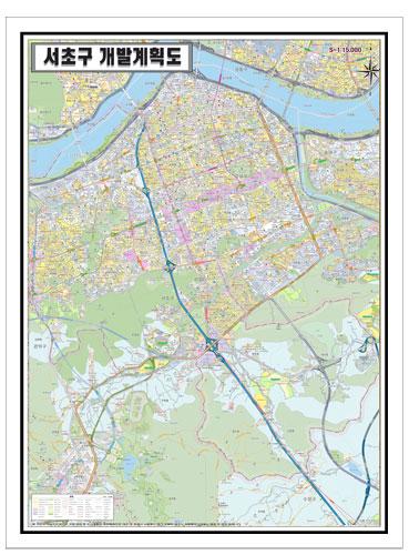 서울시 서초구 개발계획도.지도